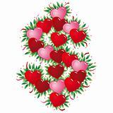 Dollar Sing - Valentine heart letter