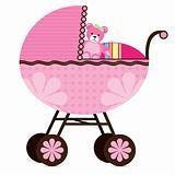 Pram for Baby Girl