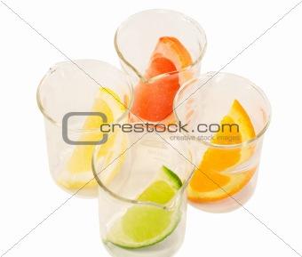 Food research - citrus mix