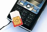 cellphone sim card