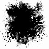 ink splat round
