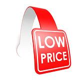Low price hang label