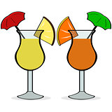 Umbrella drinks