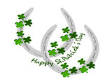 horseshoe silver st. patricks day
