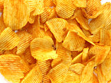 Delicious crispy chips