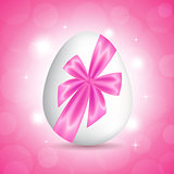 Pink card for Easter
