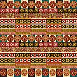 Mayan aztec tribal seamless texture
