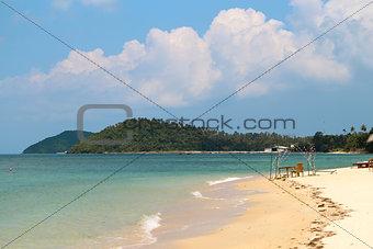 bright seascape