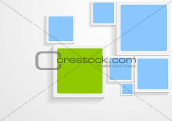 Abstract hi-tech vector bright design