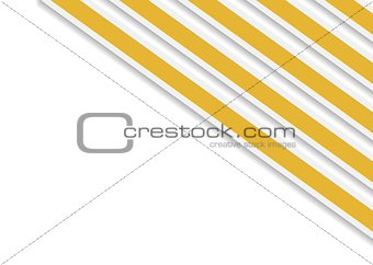 Bright orange stripes vector background