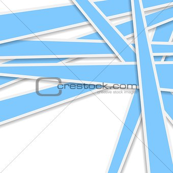 Bright blue stripes vector background