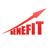 Benefit red arrow