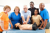 Class on CPR and First Aid