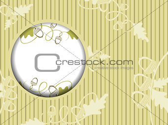 Acorn Design Frame Background