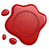 Made in Italy seal