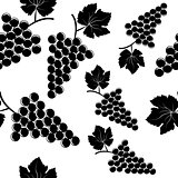 Background with grapes