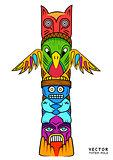 Vector Totem Pole
