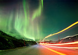 Northern Light Trails