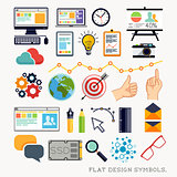 Flat Design Modern Icons & Symbols