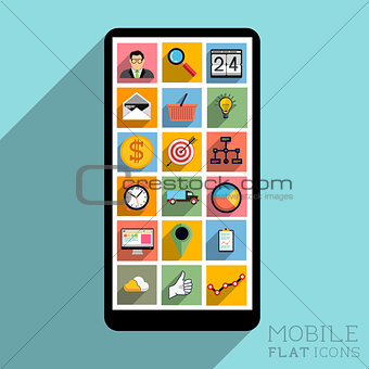 Flat Design Mobile