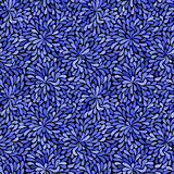 Seamless blue grunge pattern