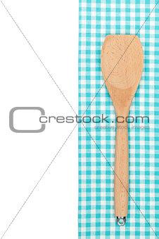 Kitchen utensil over towel
