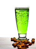 Irish green beer