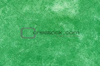 green cement sidewalk