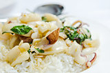 squid and rice