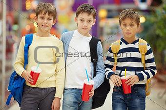 Modern schoolboys