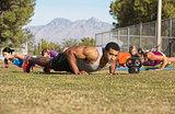 Outdoor Exercise Bootcamp