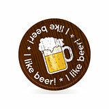 beer roundel