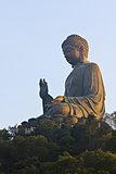 Giant Buddha/Po Lin Monastery in Hong Kong.