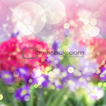 abstract garden background