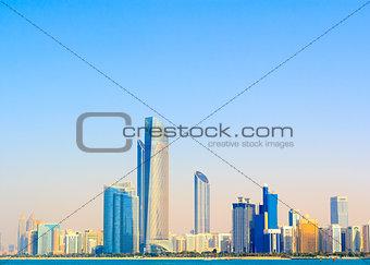 Abu Dhabi seascape