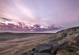 Buckstone edge sunset