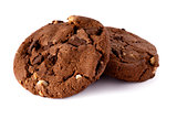 Fresh homemade chocolate cookies