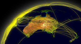 Australia connections