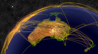 Air travel in Australia