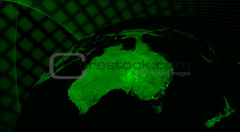 Australia technology concept