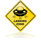 Spaceship landing zone