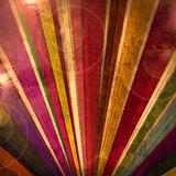 Dark circus colorful background