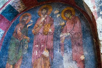 Fresco in the Church of St. Nicholas