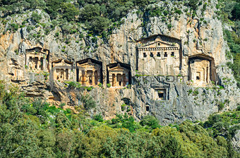 Ancient Ruins Dalyan