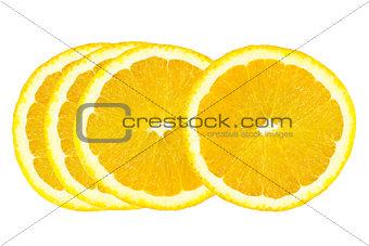 Slice of orange