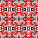 Design seamless colorful whirl rotation pattern. Abstract decora