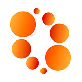 Vector logo balls
