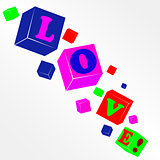 Vector cube love