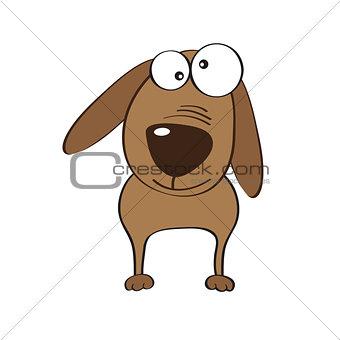 doodle dog cartoon