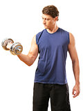 One arm bicep curl